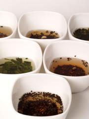 a variety of teas