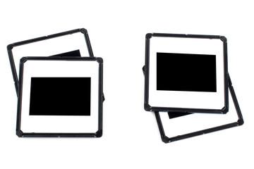assortment of photo frames