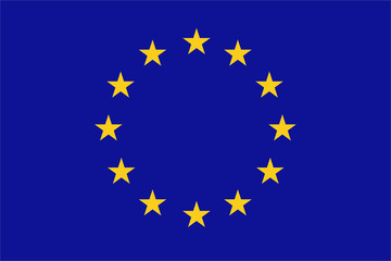 Fototapeta european union flag obraz