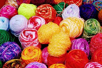 color thread balls