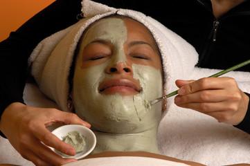spa organic facial mask