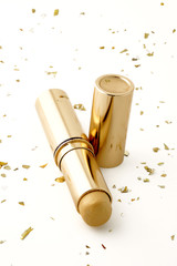 gold make-up stick