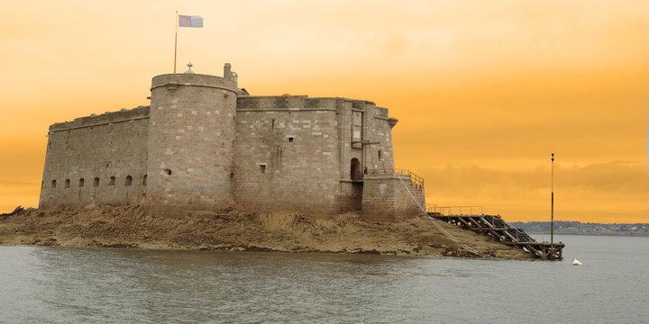 le château du taureau - baie de morlaix