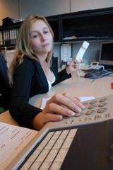 secrétaire active