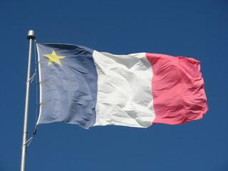 drapeau acadien