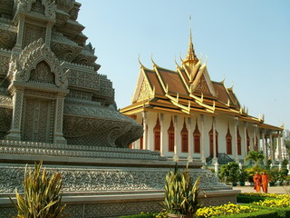 pagode d'argent, cambodge