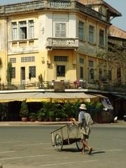 maison coloniale, phnom penh