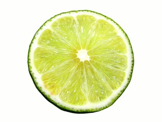lime. isolated