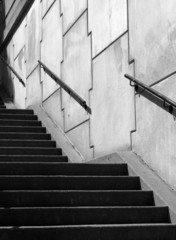 Canvas Prints Stairs jigsaw stairway