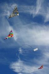 four kites