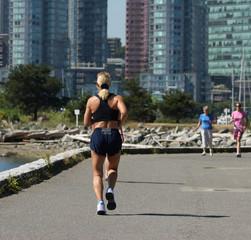 jogging the seawall