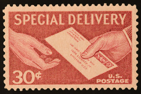 antique postage stamp