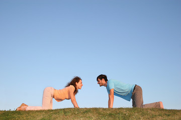 all fours couple
