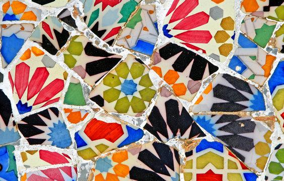 random mosaic pattern
