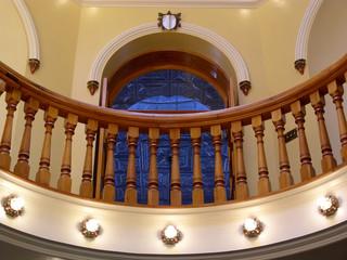 ornate balcony