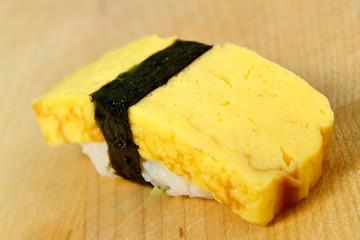omelet (tamago)  sushi