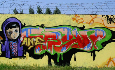 graffiti child
