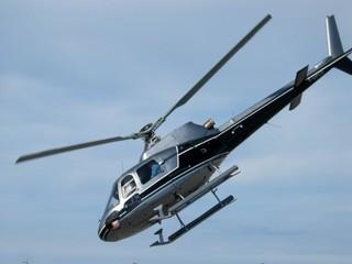 hélicoptère en piqué