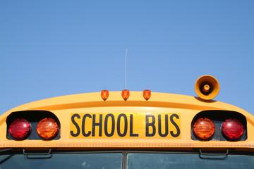 front of school bus