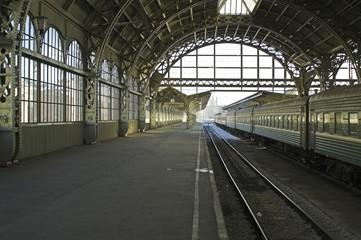 Aluminium Prints Train Station railroad station - 3