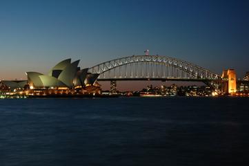Garden Poster Oceania sydney harbour bridge