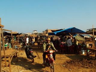 marche, cambodge