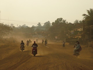 piste, cambodge