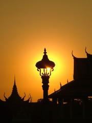 palais royal, cambodge