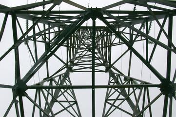 electricity transmission mast