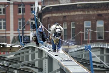 bridge steel welder