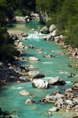 Fotorolgordijn Rivier soca river