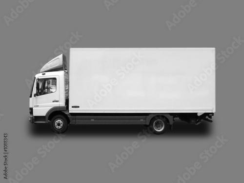 lkw 7 5 tonner seitenansicht stockfotos und lizenzfreie bilder auf bild 1088343. Black Bedroom Furniture Sets. Home Design Ideas