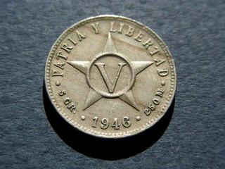 five centavos, 1946