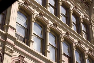 italian style building windows