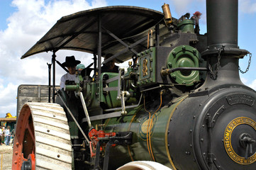 loco à vapeur