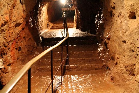 sortie de grotte