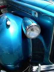 blue and chrome
