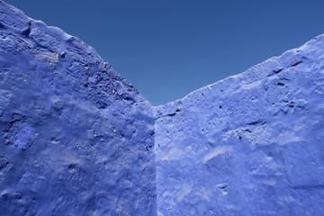 bleu sur bleu