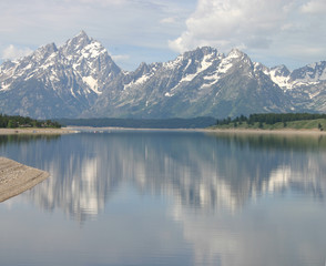 scenic view of grand teton national park