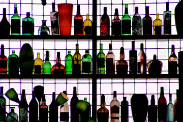 bottles on the wall