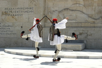 Papiers peints Athenes parliament monument athens greece