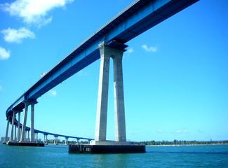 Canvas Prints Bridge coronado bridge