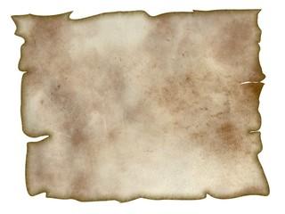 feuille de parchemin