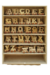 box with toy letters.