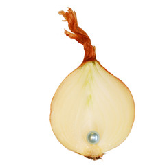 onion with a pearl inside