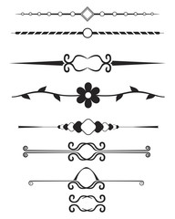decorative page elements