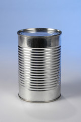 metal can without label