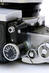 old camera dials