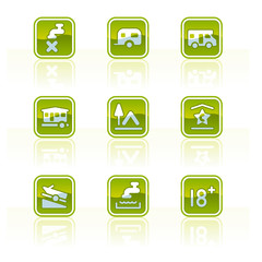 "design elements p.42d ""glossy camping icons"""