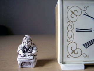 hours and sculptural miniature